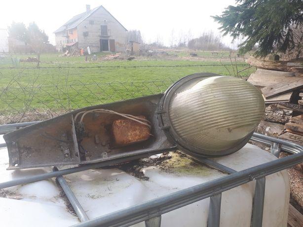 Lampa  latarnia uliczna PRL