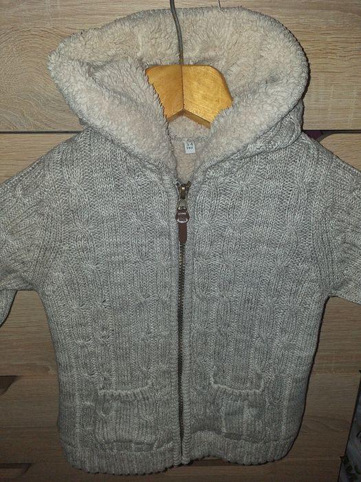 Тёплая кофта для мальчика  а также можно и девочке Нововоронцовка - изображение 1