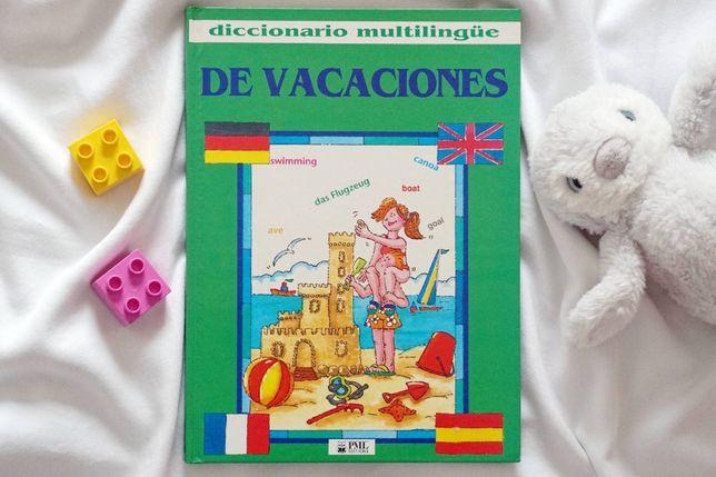 """""""De vacaciones"""" obrazkowy słownik wielojęzyczny"""