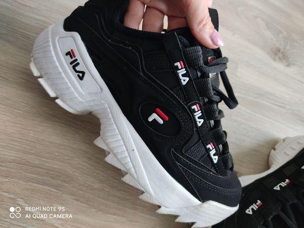Buty Fila d formation 36 czarne białe