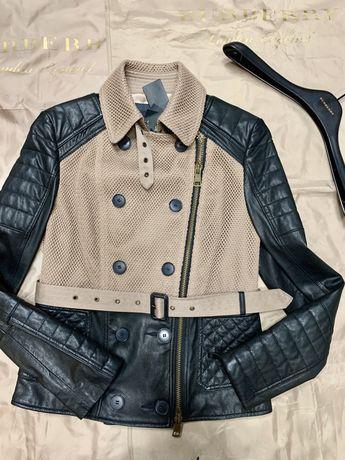 Продам шкіряну куртку Burberry/ кожаная куртка