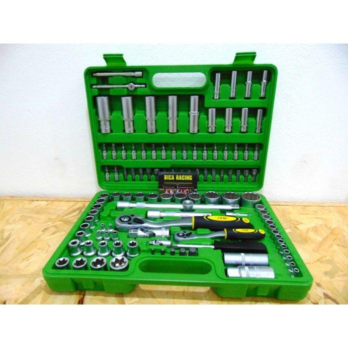 Caixa de ferramenta de 113 peças PROFISSIONAL ( Novas )