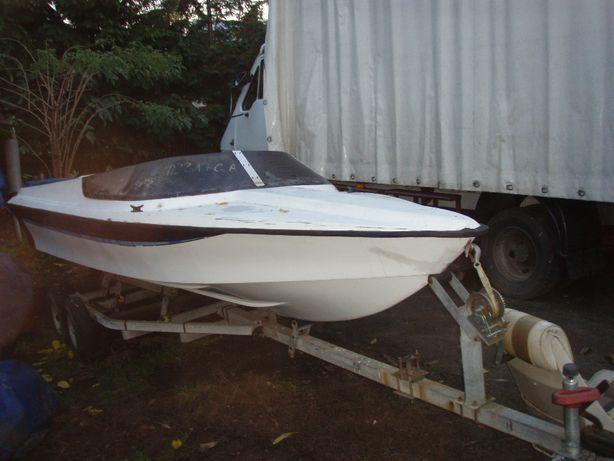 łódź sportowa - wyścigowa V8 Do poskladania lub na czesci, caly kpl z