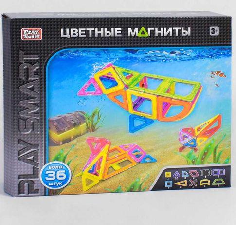 Магнитный конструктор Play smart, Limo toy