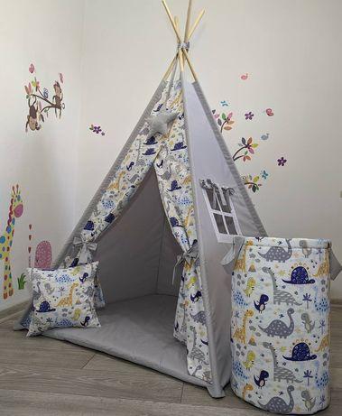 Вігвам Повний комплект дитяча палатка детская вигвам шатер намет