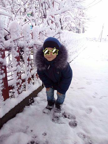 Куртка дитяча для хлопчика, зима, зимова