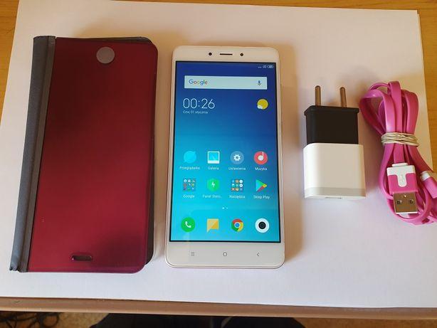 Xiaomi Redmi Note 4x Rose Różowy plus etui
