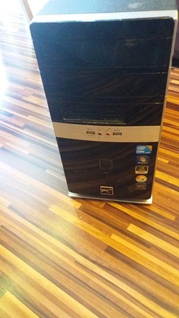 Gigabyte, Intel I3, geforce ddr3, DVD, obudowa, zasilacz na części