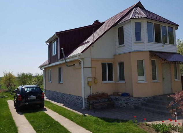 Будинок з ремонтом і меблями, сауна, сад, 17 соток, с. Дівички