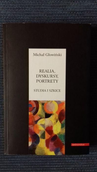 REALIA, DYSKURSY, PORTRETY - studia i szkice, Michał Głowiński Białystok - image 1
