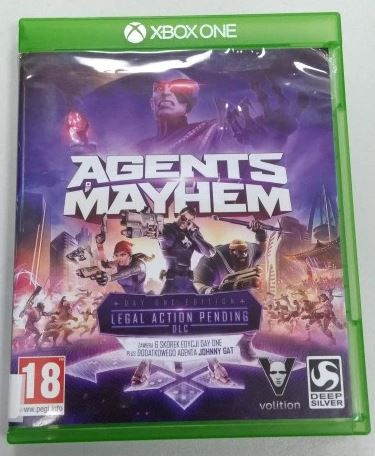 Gra Xbox One Agents Of Mayhem LOMBARD66
