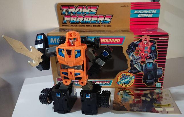 Transformers Motorvator Gripper G1