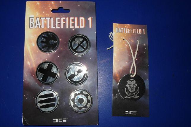 Значки/піни/брошки та жетон Battlefield I