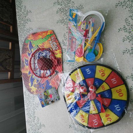 Игрушки для улицы.Іграшки для вулиці.Кольцекид.Кольцо для мяча. Дартс.