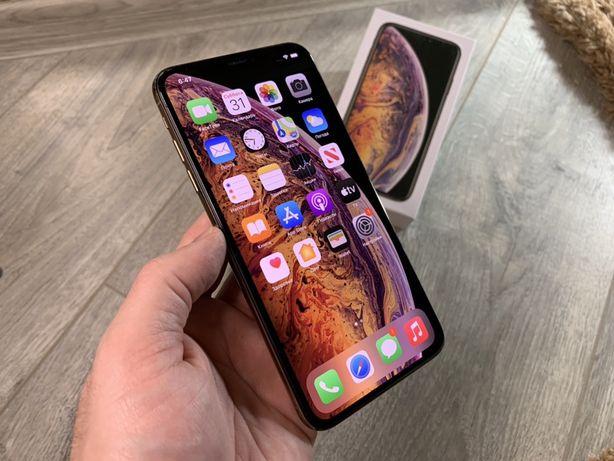 СКИДКА iPhone Xs Max 64gb Gold Rsim #745