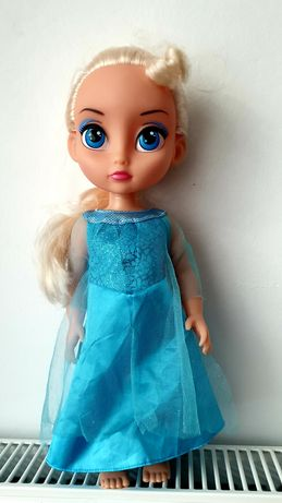 Lalka Elsa 40 cm. Stan bardzo dobry