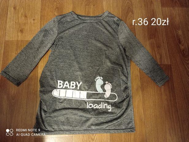 Bluzka ciążowa rozmiar 36 S