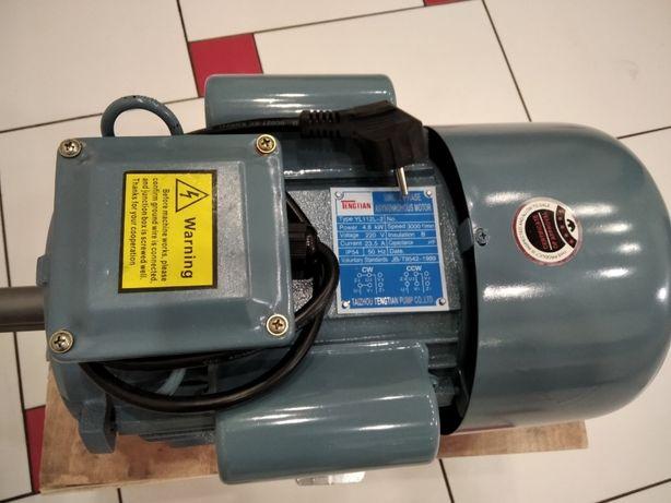 Электродвигатель однофазный 4кВт,3 кВт.2.2кВт 1.1,0.75,220В,3000-1500