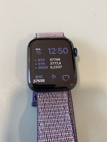 Apple Watch Serie 6 - 44 mm (Azul) - Como NOVO (Maio 2021)