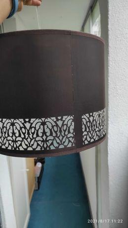Lampa wisząca brązowa - stan bardzo dobry