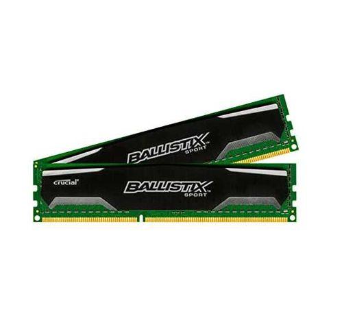 Memória RAM DDR3 Ballistix Sport 4GB (2 uni. x 2GB) DDR3-1600MHz
