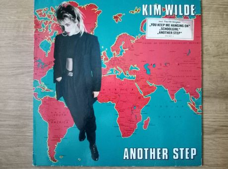 Kim Wilde another step winyl.