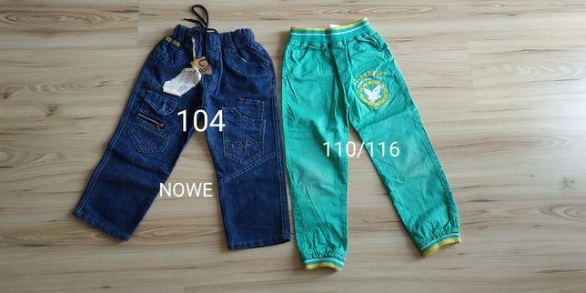 Spodnie chłopięce 2 szt, 104-116