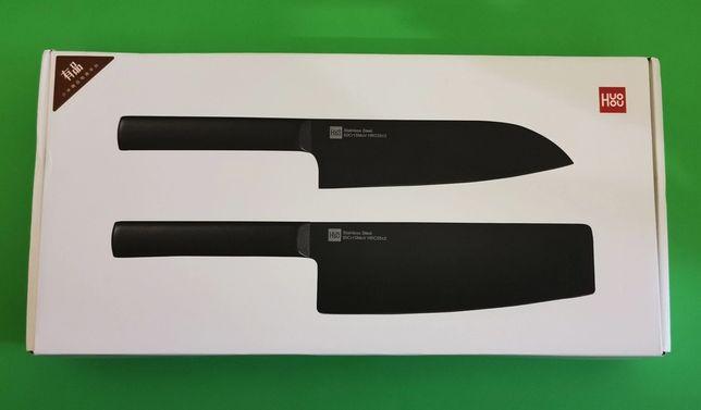 Набор кухоных ножей Xiaomi Huo Hou Black Heat Knife Set -