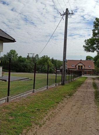 Kompletne ogrodzenie panelowe z MONTAŻEM