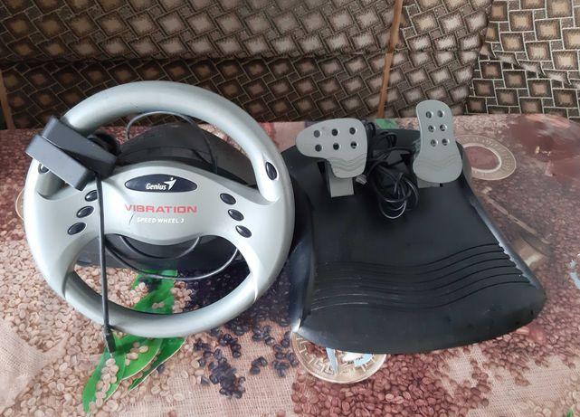 Педаль и руль для компьютера