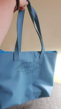 Женская сумка синняя