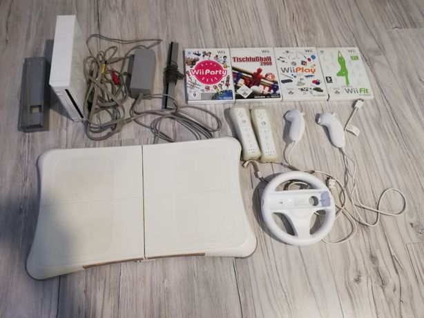 Konsola Nintendo Wii zestaw