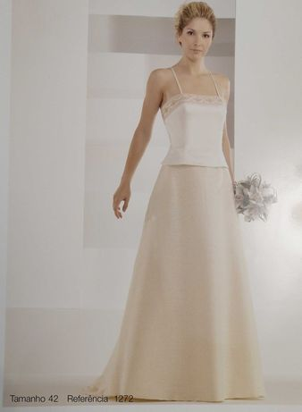 Vestido de Noiva Sposa Nova 1272