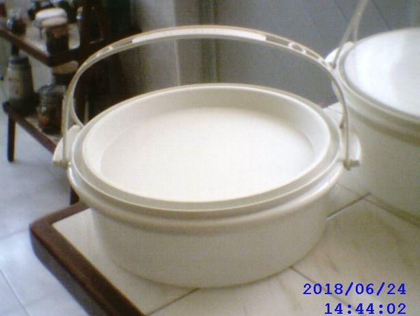 Porta bolos da Tupperware