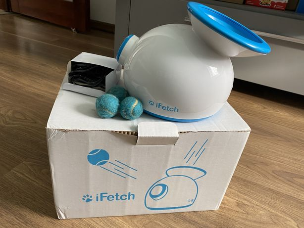 Automatyczna wyrzutnia piłek dla psa iFetch