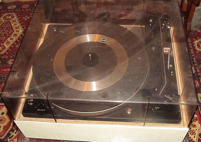 klasyk gramofon Dual 1210 type CS10
