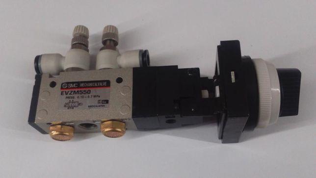 Válvula Smc pneumática de control manual EVZM550-F01-34B
