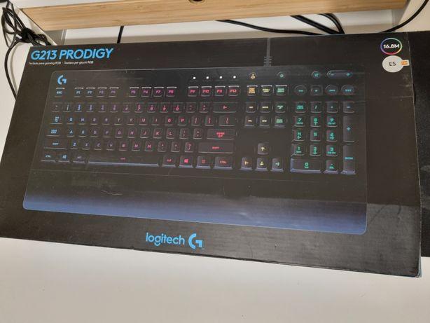 Teclado Logitech G213 Prodigy ES