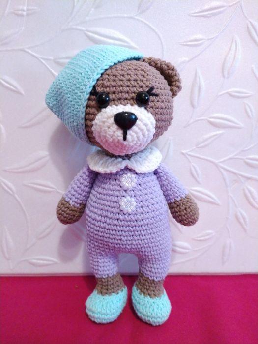 Игрушка «Мишутка в пижамке» Красноармейск - изображение 1