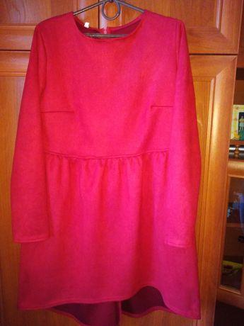 Тёплое платье :)
