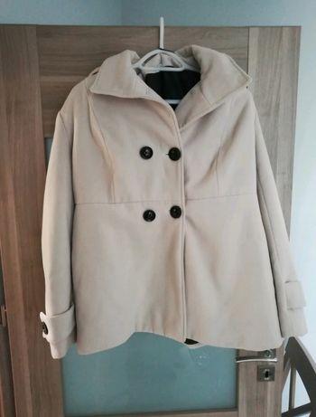 Płaszcz.  zimowy