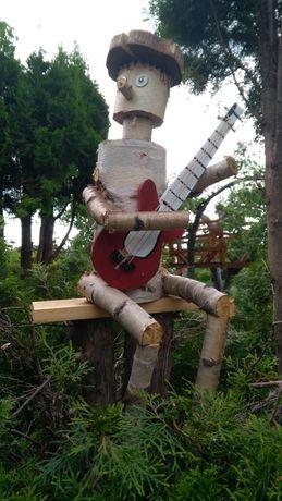 Ludzik z drewna