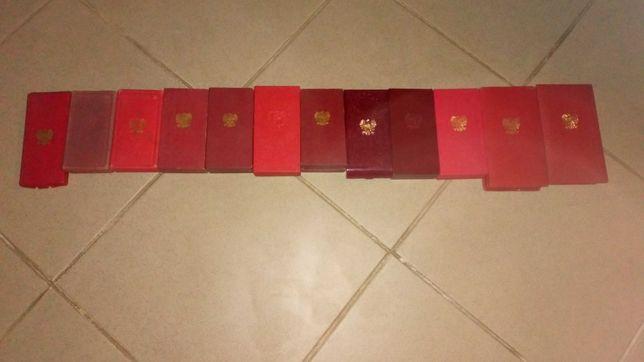 Medale, odznaki +legitymacje prl itp