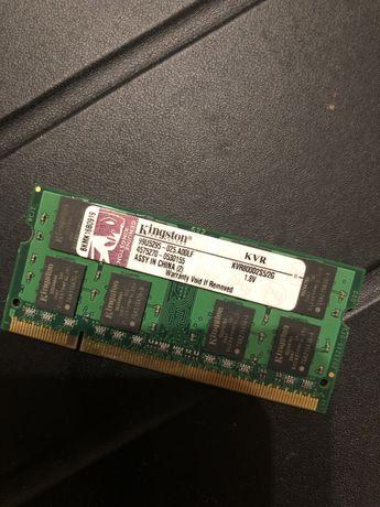 Memoria para portatil Kingston DDR2 2 GB
