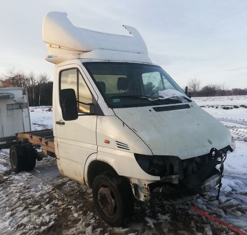 Mercedes Sprinter 416 2.7 cdi do 3.5 t rama wywrotka laweta