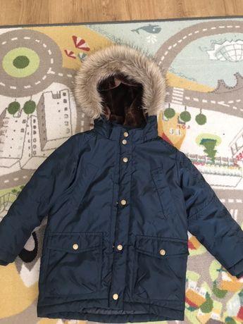 Зимняя куртка 116 на мальчика