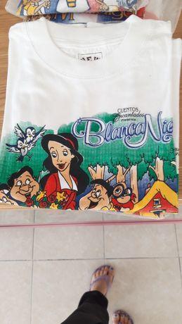 T-shirt para menina e para menino