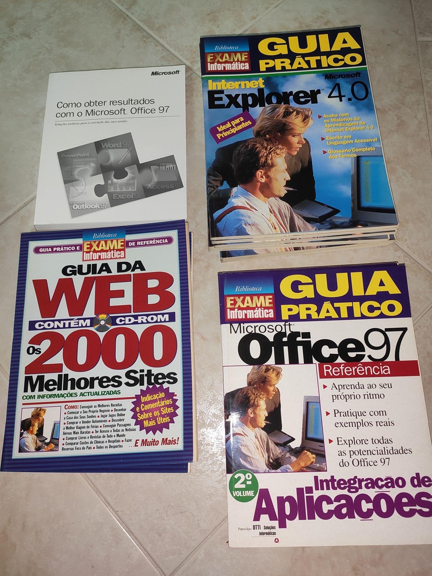 Livro e Revistas Microsoft Office Manual World Excel Exame Informática