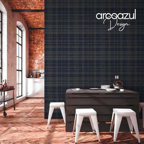 Papel de Parede Xadrez - Rolo 0.53x10.5m By Arcoazul Design