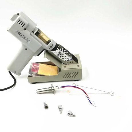 Pistola de Dessoldar a vácuo - Solda Electrónica